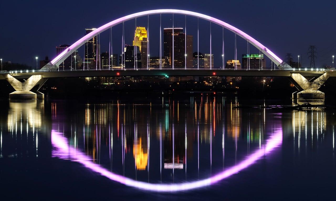 Lowry Avenue Bridge, Minneapolis, MN